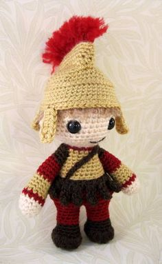 Rory the roman! Oh my gosh this is fantastic! I may need to learn to knit! Or find a knitter friend