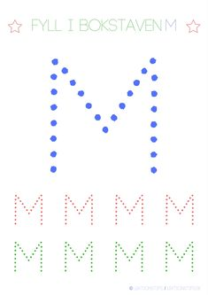 Lär dig skriva hela alfabetet med dessa färgglada bokstäver i färgerna röd, grön och blå – Lektionstips Swedish Language, Tracing Letters, Cool Kids, Literacy, Diagram, Teaching, Education, Paw Patrol, Toddlers