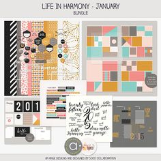 Life in harmony - JANUARY | Ange & Soco collab