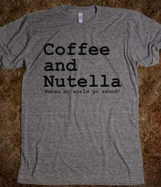 Coffee and Nutella