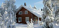 Ounasvaara Chalets Winter Cabin Holiday in Rovaniemi Meet Santa, Visit Santa, Heat Logs, Hotel Chalet, Norway Winter, Santa's Village, Going On Holiday, Winter Holiday, Winter Cabin