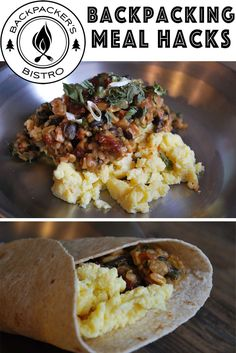 Eat well on your next camping or backpacking trip with these backpacking meal tips from @bpbistro !