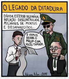 Charge publicada no jornal Brasil Atualwww.redebrasilatual.com.br/jornais