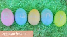 Easter Egg Hunt How to - tips on age-appropriate hunts, decor