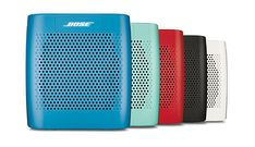 The SoundLink Color BLUETOOTH speaker suits your style, with five colors to choose from