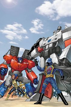 G.I. Joe vs. Transformers by Mike Miller