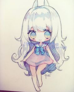 Hii~ uwu hope you all have a fantastic day (or night) ~!! <3 #sakurakoi #watercolor #watercolour #sketch #chibi