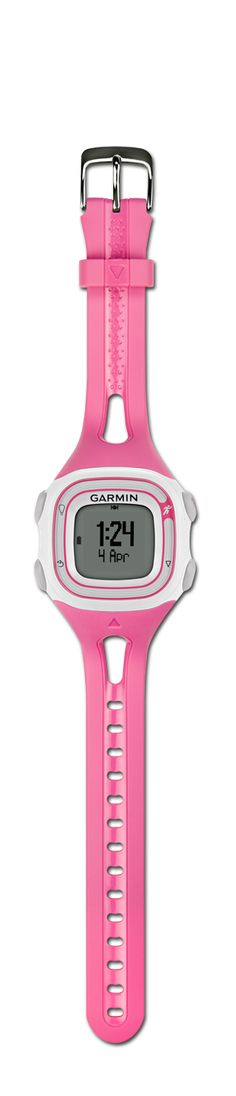Forerunner 10 GPS Running Watch  This is a GREAT entry level running watch with all the distance, time and pace functions as the high end watches, just no heart rate function for those that don't need that much data. It's perfect!
