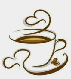 Abstract coffee with cup design vector 04 - Tee und Kaffee Tea Coffee Time - I Love Coffee, My Coffee, Coffee Mugs, Funny Coffee, Good Morning Coffee Cup, Coffee Cartoon, Coffee Mornings, Happy Coffee, Coffee Break