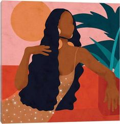 Taraji Canvas Art by Reyna Noriega Black Girl Art, Art Girl, Black Love Art, Black Art Painting, Afro Painting, Afro Art, Canvas Art Prints, Small Canvas Art, Canvas Artwork