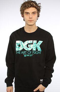 DGK The Art of Flight Crew Sweatshirt $49.50 (save $5.50)
