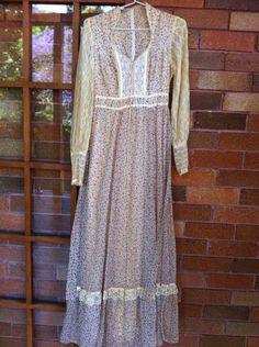 Gunne Sax by Jessica Vintage Gown