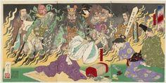 The Fever of Taira no Kiyomori (Taira no Kiyomori hi no yamai no zu)
