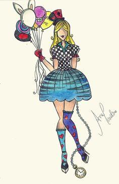 Alice in Wonderland by AneDionisio.deviantart.com on @deviantART