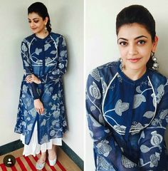 Indian Attire, Indian Wear, Pakistani Dresses, Indian Dresses, Latest Kurta Designs, Churidhar Neck Designs, Honeymoon Outfits, Indian Princess, Saree Dress
