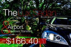 Lux Sedan Airport & In-Town Transfers $166.40 in New Orleans