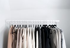 Chic Clothes Rack Display