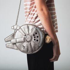New Millennium Falcon crossbody bag coming soon from Bioworld