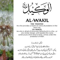The 99 Beautiful Names of Allah Beautiful Names Of Allah, Beautiful Prayers, Prayer Verses, Quran Verses, Islamic Inspirational Quotes, Islamic Quotes, Islamic Dua, Almighty Allah, Allah Names