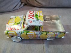 Xixo Trabant 601 pickup (soda can)