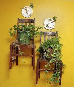 repurposed objects for home decor - Google Search