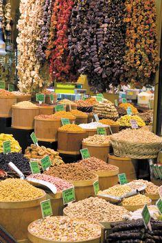 Grand Bazaar, spice market, Istanbul