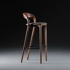 Bar Stool Industrial Style Made with Steel Square Tube and