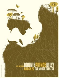 Bonnie Prince Billy print by Frida Clements