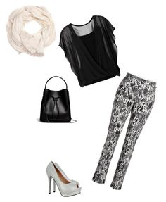 """""""Black&White"""" by project19 on Polyvore"""