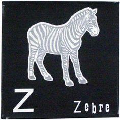leuke alfabet canvas doek