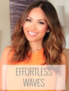 Marianna Hewitt shows you how to get effortless undone waves in this hair tutorial on La La Mer.