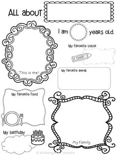 FREEBIE! All about me