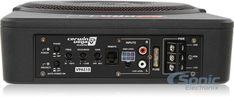 "Cerwin Vega VPAS10 550W 10"" Low Profile Amplified Subwoofer Powered Subwoofer, Remote, Profile, User Profile"