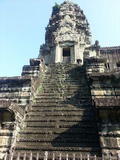Steep temple