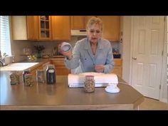 ▶ Emergency Food Storage - How to Use Food Saver Jars Sealers - YouTube