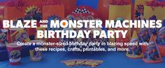 Blaze and the Monster Machines Birthday Party