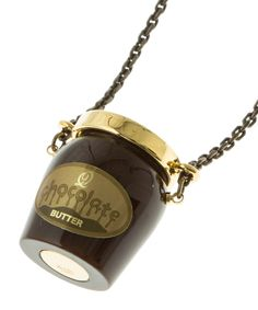 Chocolate Butter Bottle Necklace