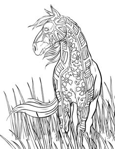 Horse Coloring Pages for Adults . 30 Luxury Horse Coloring Pages for Adults . Realistic Horse Coloring Sheets Fresh Coloring Pages Horses Horse Coloring Pages, Coloring Pages For Girls, Mandala Coloring Pages, Coloring Pages To Print, Printable Coloring Pages, Coloring Books, Free Coloring, Colouring, Coloring Sheets