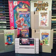 What a horrible night to have a curse #retrogaming #retro #gaming #retrovideogames #videogames #games #retrocollective #retrospect #igersnintendo #nintendo #ninstagram #nescollection #nintendolife #videogamecollection #gamer #nes #snes #supernintendo #supernes #sega #segagenesis #castlevania #konami #dracula #horror by retropunks
