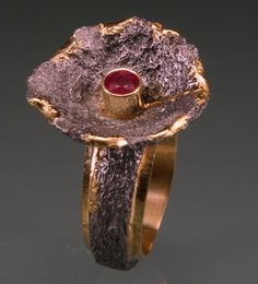 """""""Chanterelle"""" Ring  by Rob Jackson"""