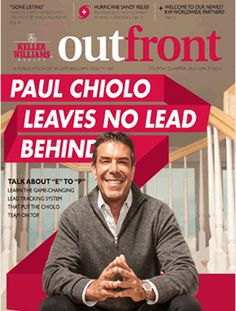 The latest Keller Williams OutFront magazine with helpful tips on running a successful real estate business!