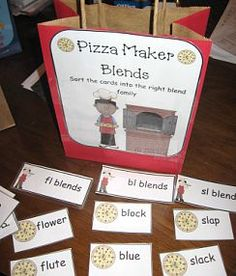 Great Phonics Game with templates ready to print!