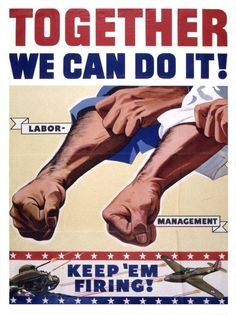 Propaganda Poster - WWII American Militaria Prints, World War 2 History Art Ww2 Propaganda Posters, Art Of Manliness, We Can Do It, Together We Can, Budgeting Tips, World War Ii, Personal Finance, Wwii, Norman Rockwell