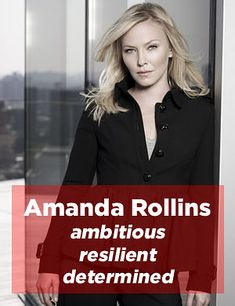 "Which ""Law And Order"" Detective Are You? I got detective Amanda Rollins from SVU"