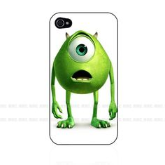 Monster+Disney+Mike+Wazowski+Hard+Case+Cover+for+Iphone+4+4s+5+5s+5C+6+++iPod+++