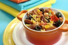 Slow Cooker Chicken Enchilada Recipe (with Vegetarian Option)