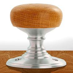 Delamain DK32WOSC Wooden Mortice Knob Handles. #balltypehandle #woodendoorknob #woodenfinisheddoorknob