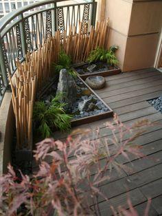 For Terrace And Balcony - Outdoor Hidden Seated Privacy Porch And Terrace, Small Balcony Garden, Small Balconies, Balcony Design, Garden Design, Decorating My First Apartment, Garden Styles, Garden Planning, Garden Inspiration