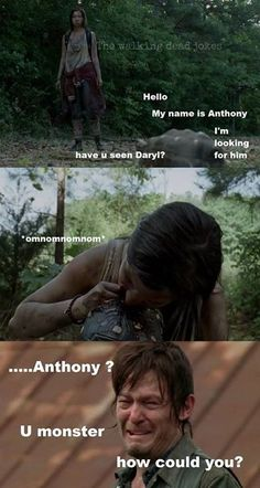 NOOO! ANTHONY!