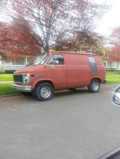 Ckassic short Chevy van